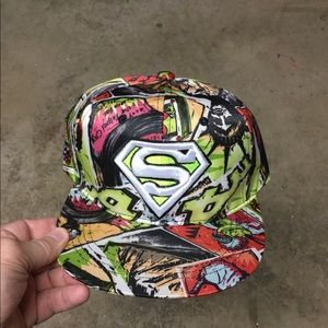 NEW Superman SnapBack Hat